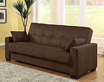 sofa sleepers pearington mia microfiber sofa sleeper bed u0026 lounger with storage, ... LTPSLVL