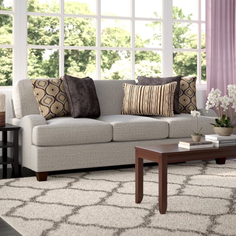 You can give your living room a look by using sofa upholstery