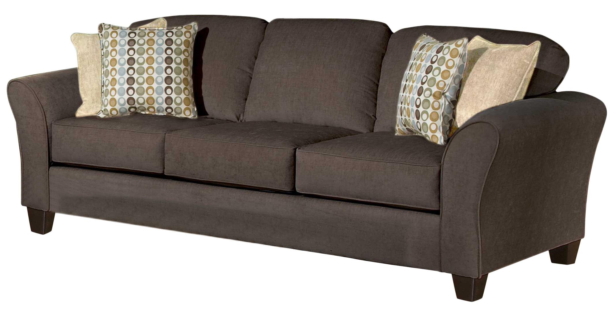sofa upholstery three posts serta upholstery franklin sofa u0026 reviews | wayfair DYAMFJF