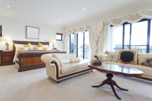 sofas for bedroom a light and bright master bedroom with a large sofa and chaise lounge XKCMTTD