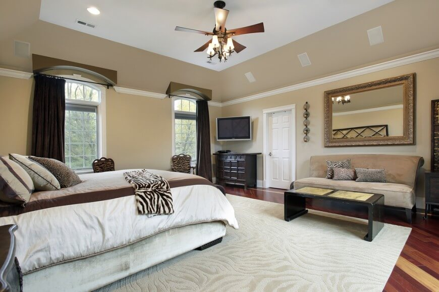 sofas for bedroom a spacious master bedroom with a deep tray ceiling and a large ceiling CJCQHEW
