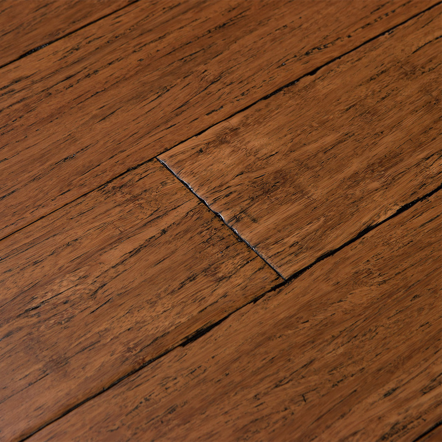 solid bamboo flooring display product reviews for fossilized 3.75-in antique java bamboo solid  hardwood flooring GRLRSGC