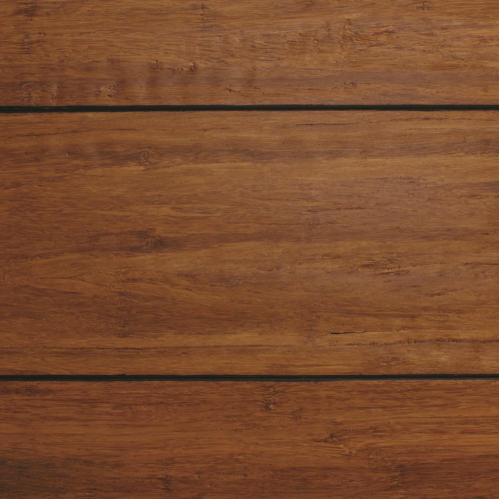 solid bamboo flooring home decorators collection strand woven distressed dark honey 1/2 in. t x XCDABJU
