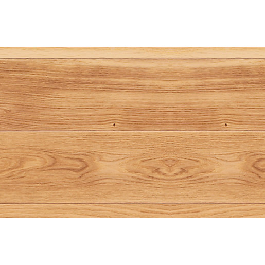 solid wood flooring elka rustic lacquered oak pack coverage 2.184m² LDQXBYO