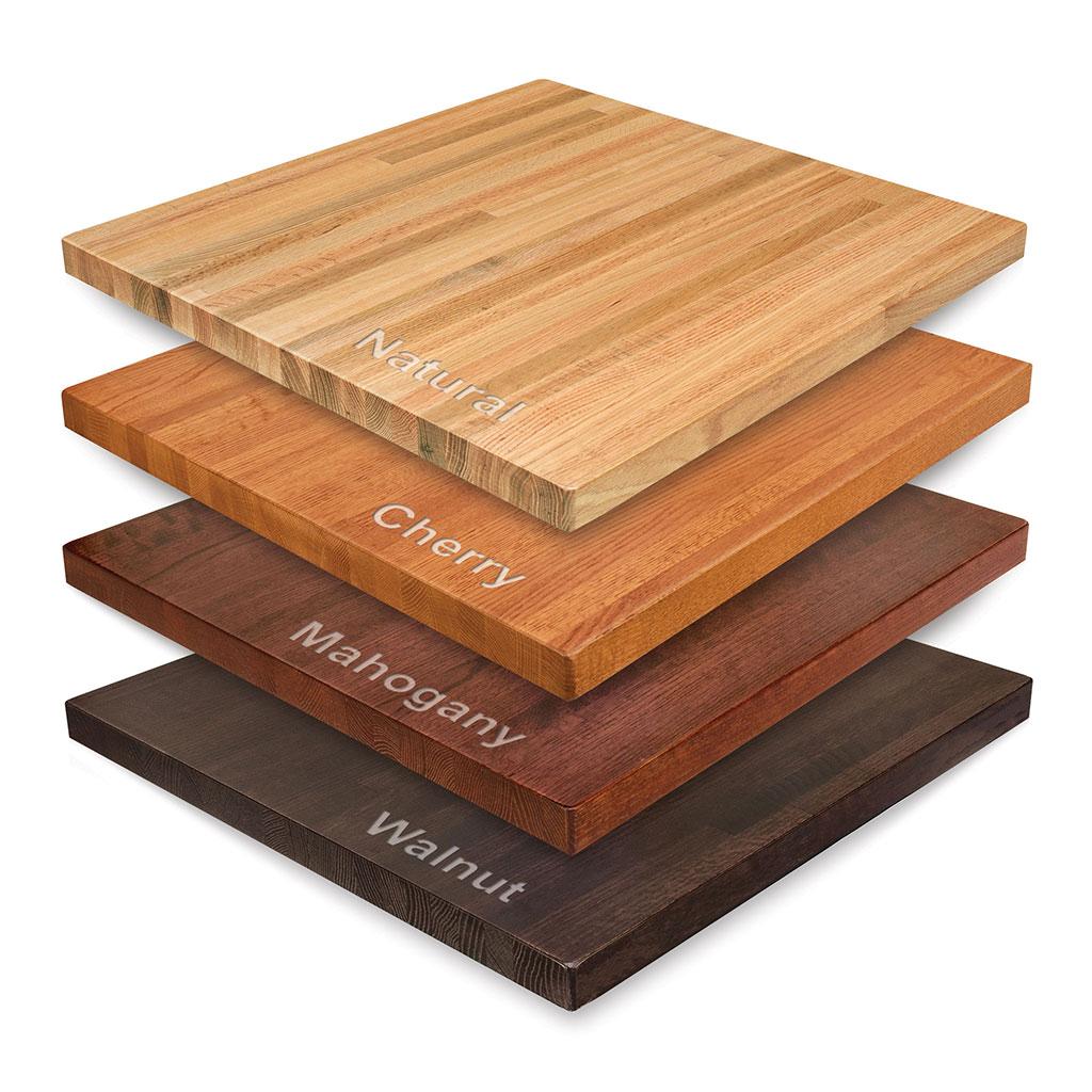 solid wood red oak butcher block table tops - bar u0026 restaurant furniture, tables, IVKSTFV