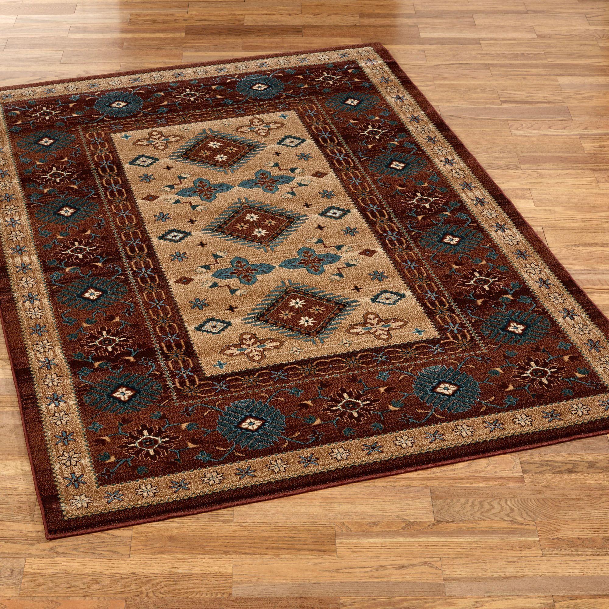 southwest rugs bennington rectangle rug multi warm EYPOPFY
