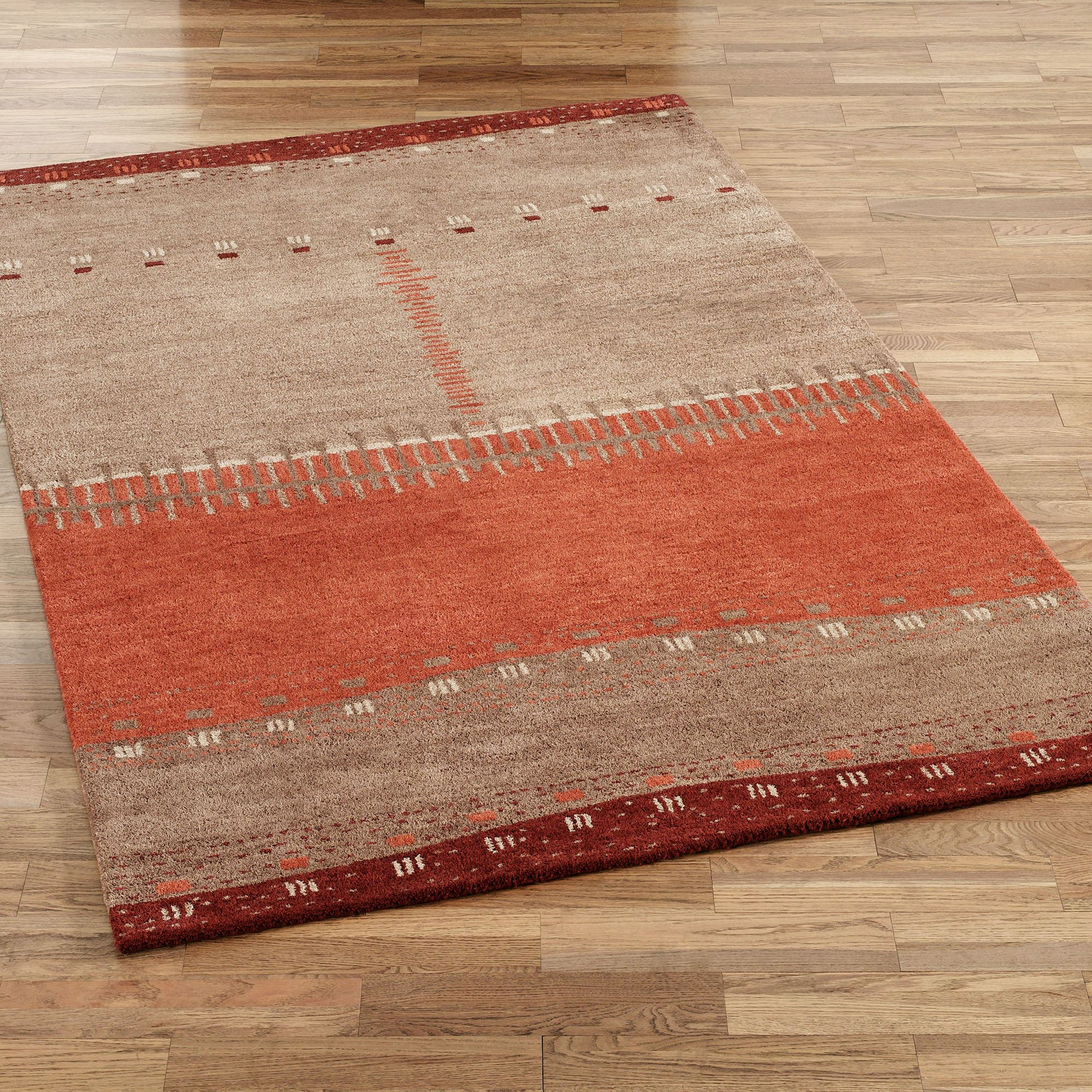 southwest rugs path in sand rectangle rug brown IZWAYLC