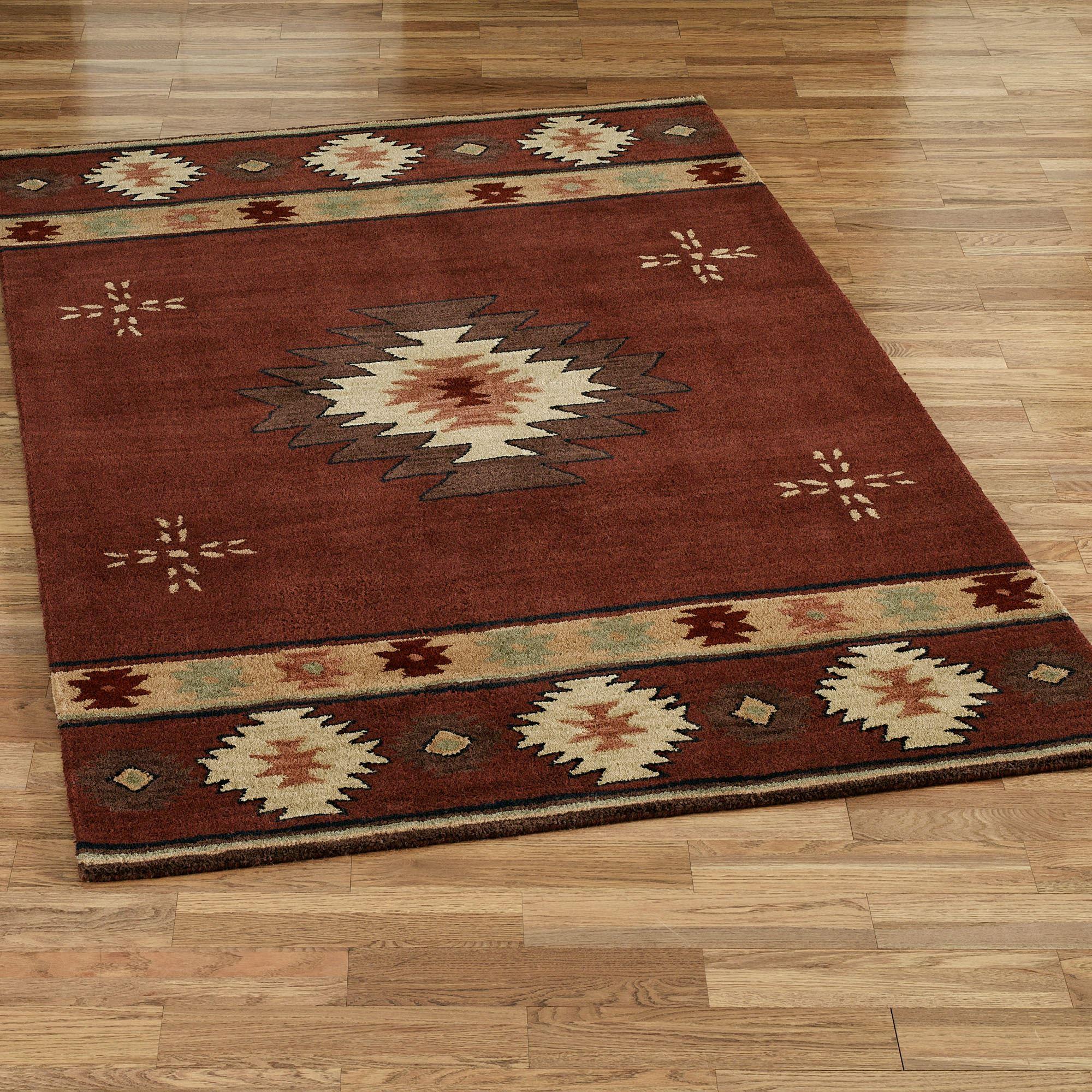 southwest rugs southwest diamond rectangle rug CDUPZNC