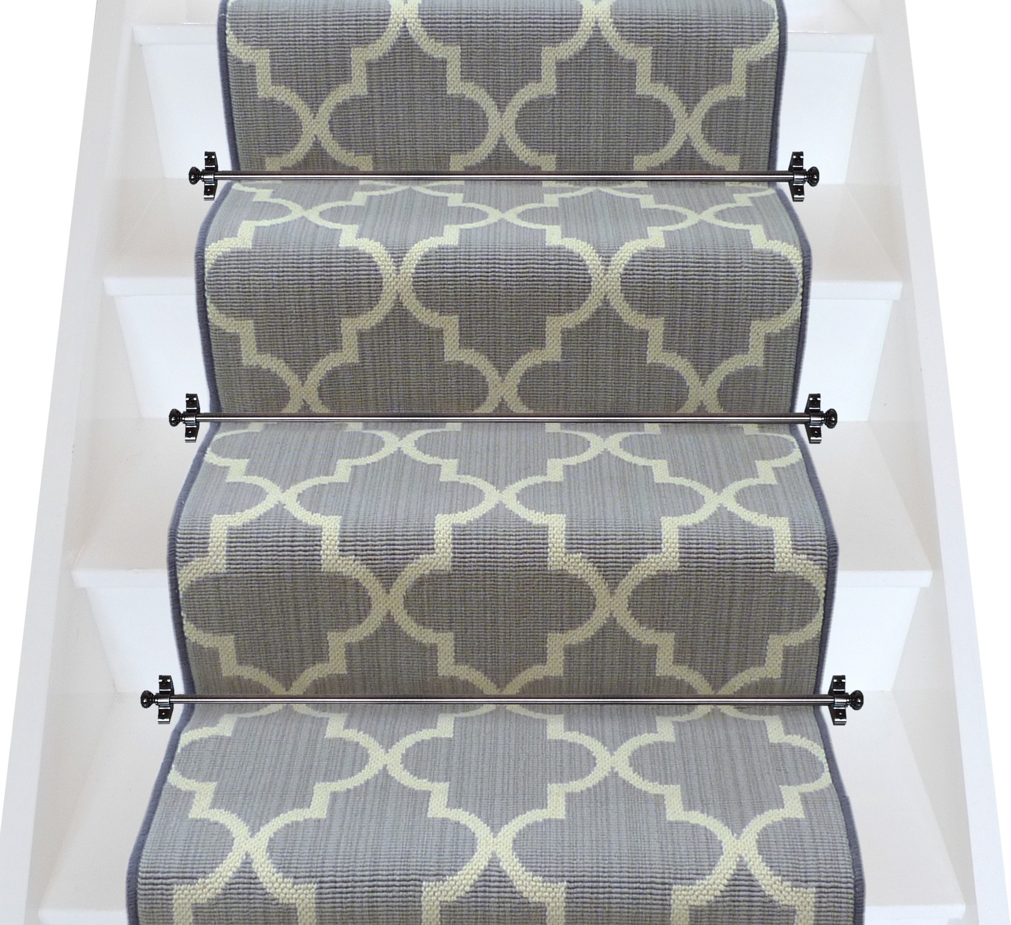 stair carpets axminster carpets royal borough trellis windsor steel mid grey (per m²) SETUJIN