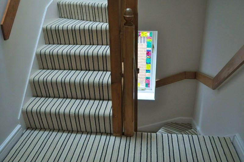 stair carpets brintons carpets stripes collection brighton rock fully fitted stair carpet  (per m) BEGPEXT
