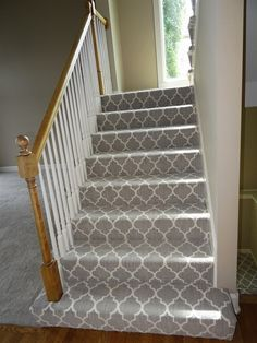 stair carpets images of patterned carpet on stairs - google search LBQYEDN