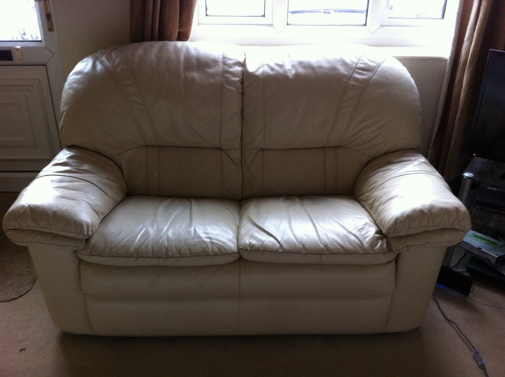 stylish exquisite used sofa free 2 seater 3 seater cream leather sofa set INXPWLC