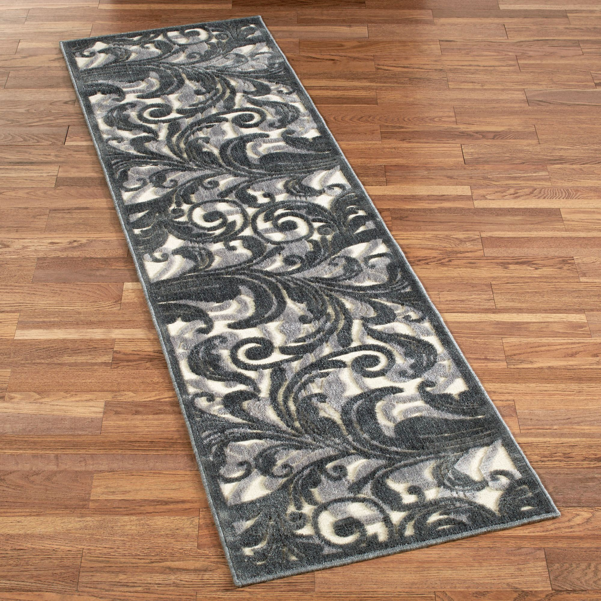 tantalizing graphic ivory runner rug 23 x 8 IHQHLRF