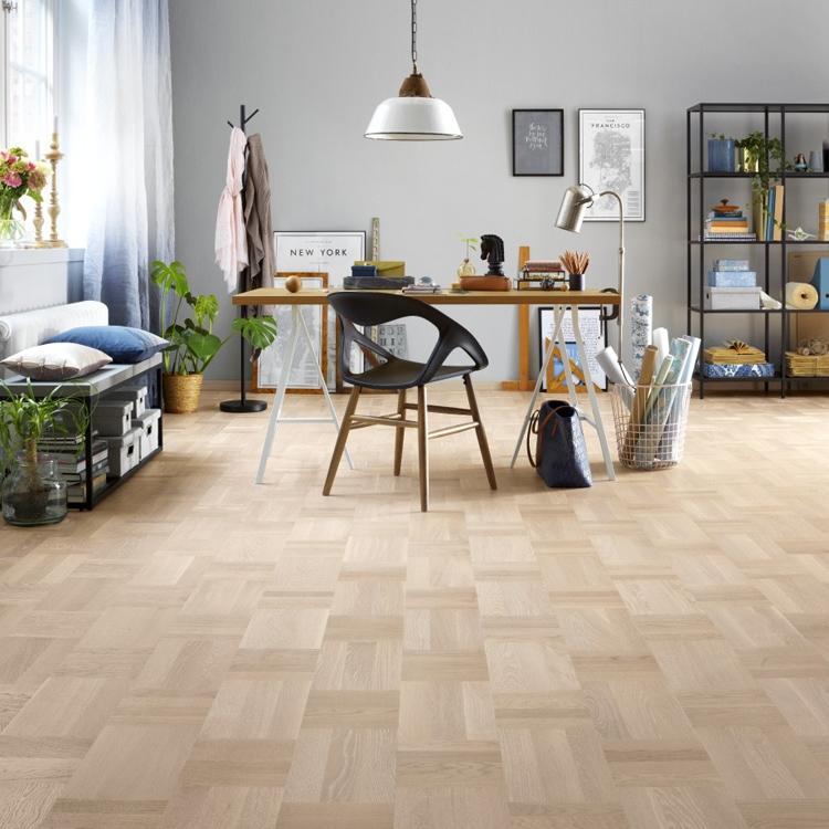 tarkett atelier noble oak scandinavian white parquet flooring RVUPOJW