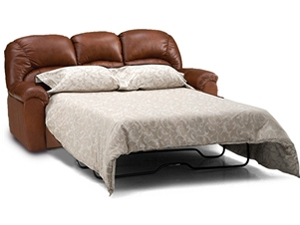 taurus - palliser leather sleeper sofa - queen|town and country leather  furniture HZESHMY