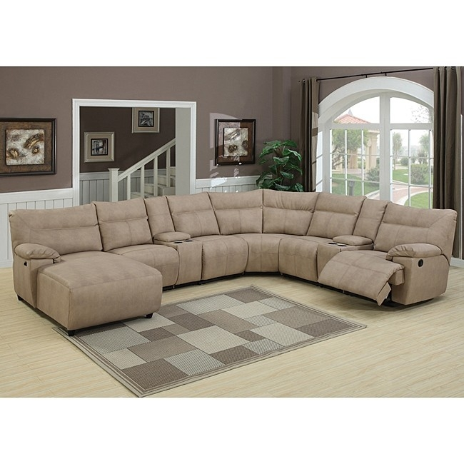 theater sectional reclining sofa 1 ODQKXSA