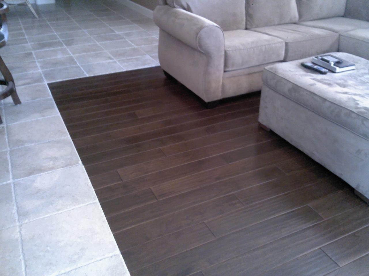 tile hardwood floor hardwood and tile combination flooring - youtube IUZAVKE