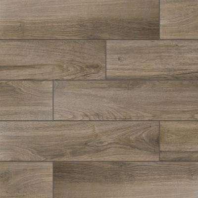 Tile hardwood porcelain floor and wall tile (14.55 XSFDSOZ