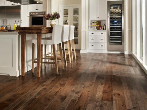 Tile hardwood wood tile next to real hardwood floors? JVGOHJM