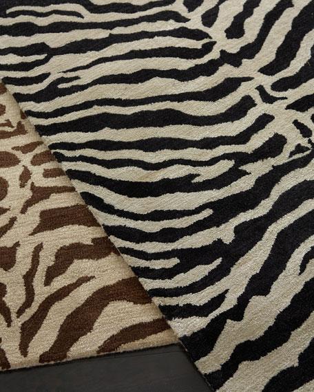 traditional zebra rug, 8u00276 JKOXFFK