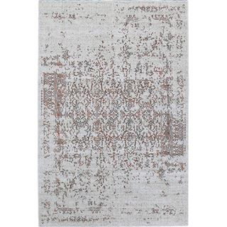 transitional rugs picture of distressed turkish gray orange rug YLEWCQR