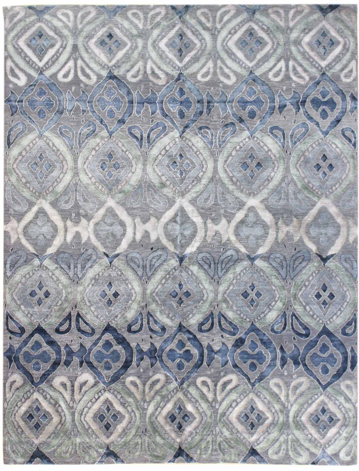transitional rugs the blues gallery: transitional design rug, hand-knotted in nepal; size: XQMKNLY