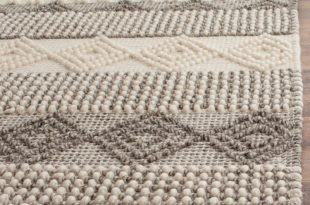 tufted rug billie hand-tufted gray/ivory area rug XATNQSP