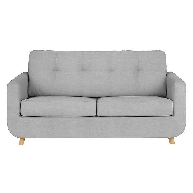two seater sofa beds buyjohn lewis barbican medium 2 seater sofa bed online at johnlewis.com DZXYJDR