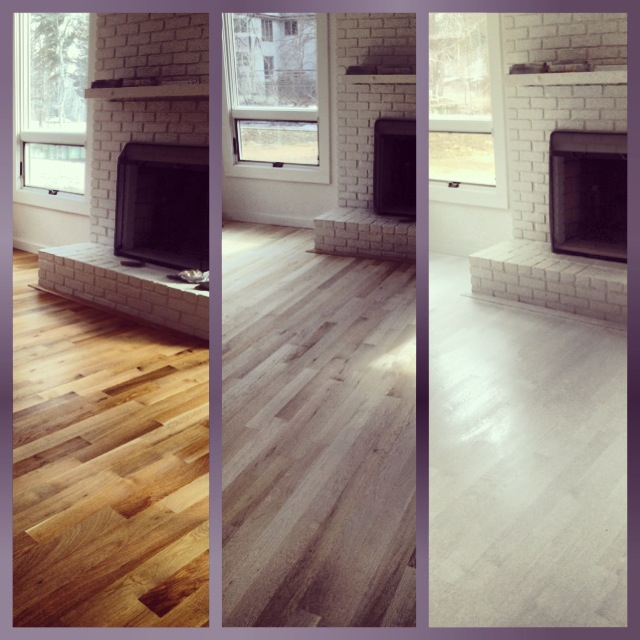 What is an unfinished hardwood flooring?