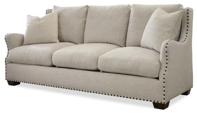 Upholstered sofa connor upholstered sofa, linen MCAGIMB