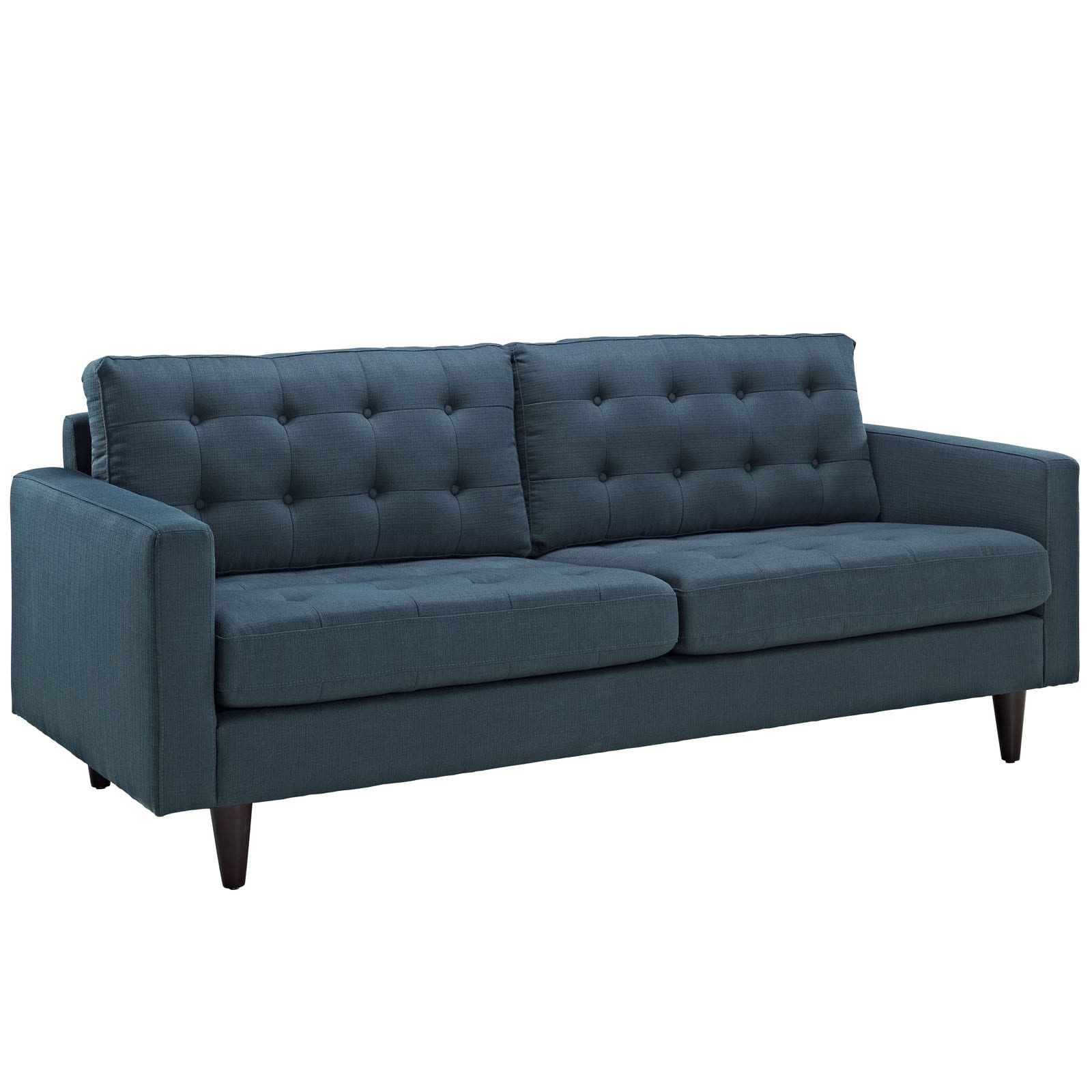 Upholstered sofa empress tufted upholstered sofa - free shipping today - overstock - 15955337 ORIALXV