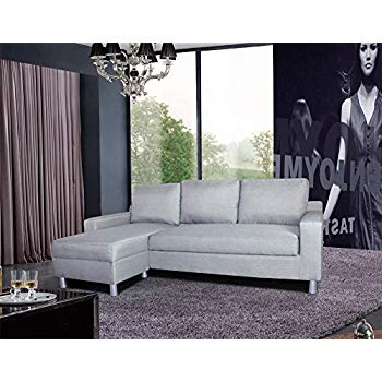us pride furniture kachy fabric convertible sleeper sectional sofa bed u0026  facing-left RXQKNGU
