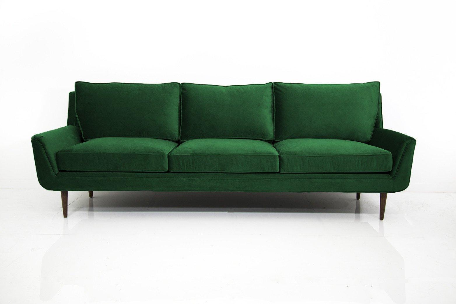 velvet sofa stockholm sofa in emerald green velvet MTDXTQL