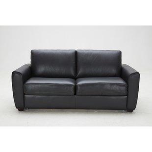 ventura leather sleeper sofa MNNPUPK