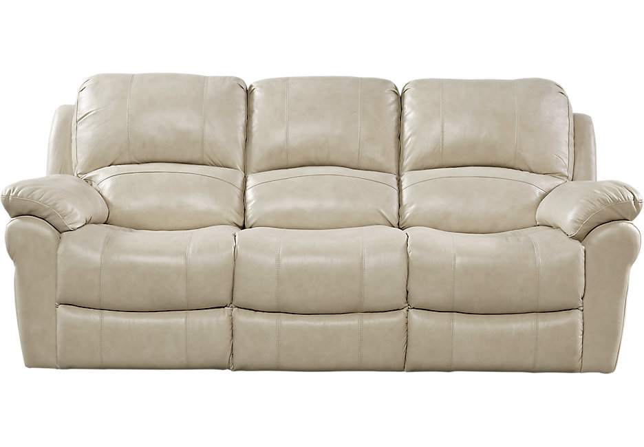 vercelli stone leather reclining sofa SWLREPY