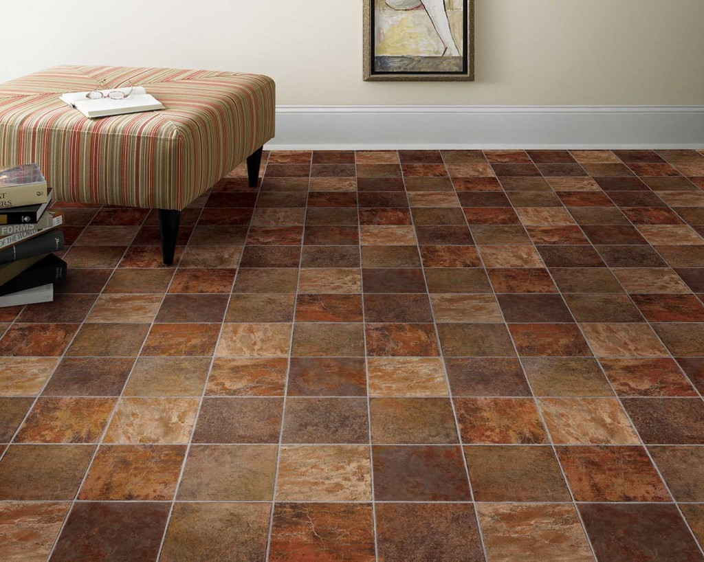 Vinyl flooring tiles how to lay a vinyl tile floor express flooring tile look vinyl click QNQUXLE