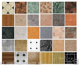 Vinyl flooring tiles image is loading 4-x-vinyl-floor-tiles-self-adhesive-bathroom- EAQDOFI