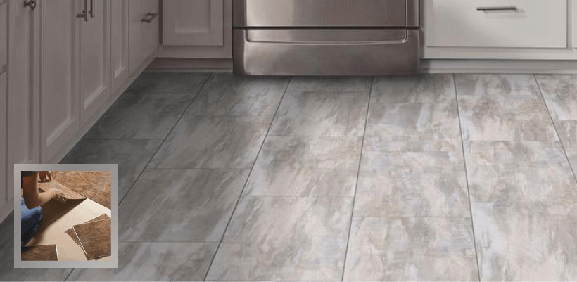 Vinyl flooring tiles is a smart choice