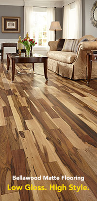 vinyl hardwood flooring bellawood matte hardwood flooring HUMZGFJ