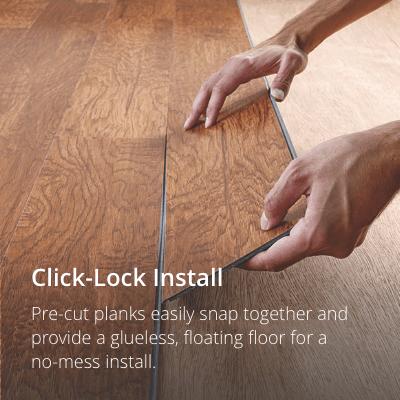 vinyl hardwood flooring click lock SMSRRNX