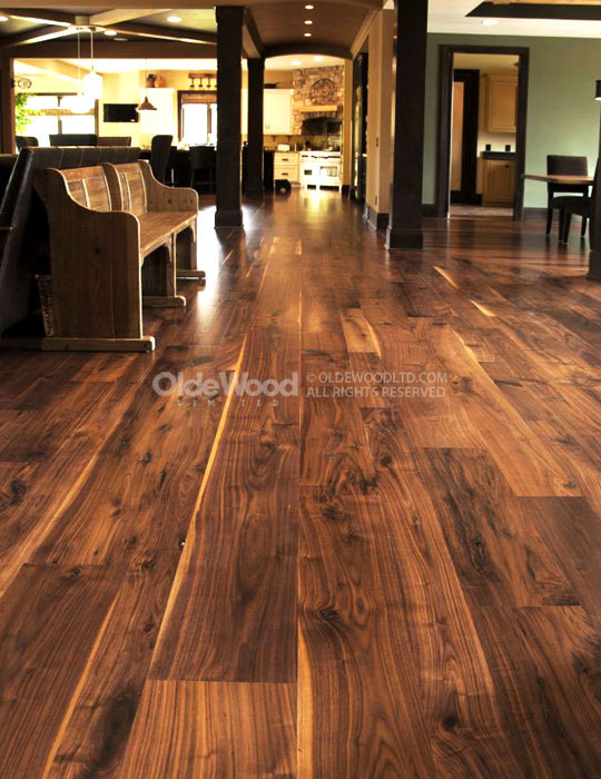 Walnut flooring wide plank walnut flooring | walnut hardwood flooring | olde wood QKUIRSM