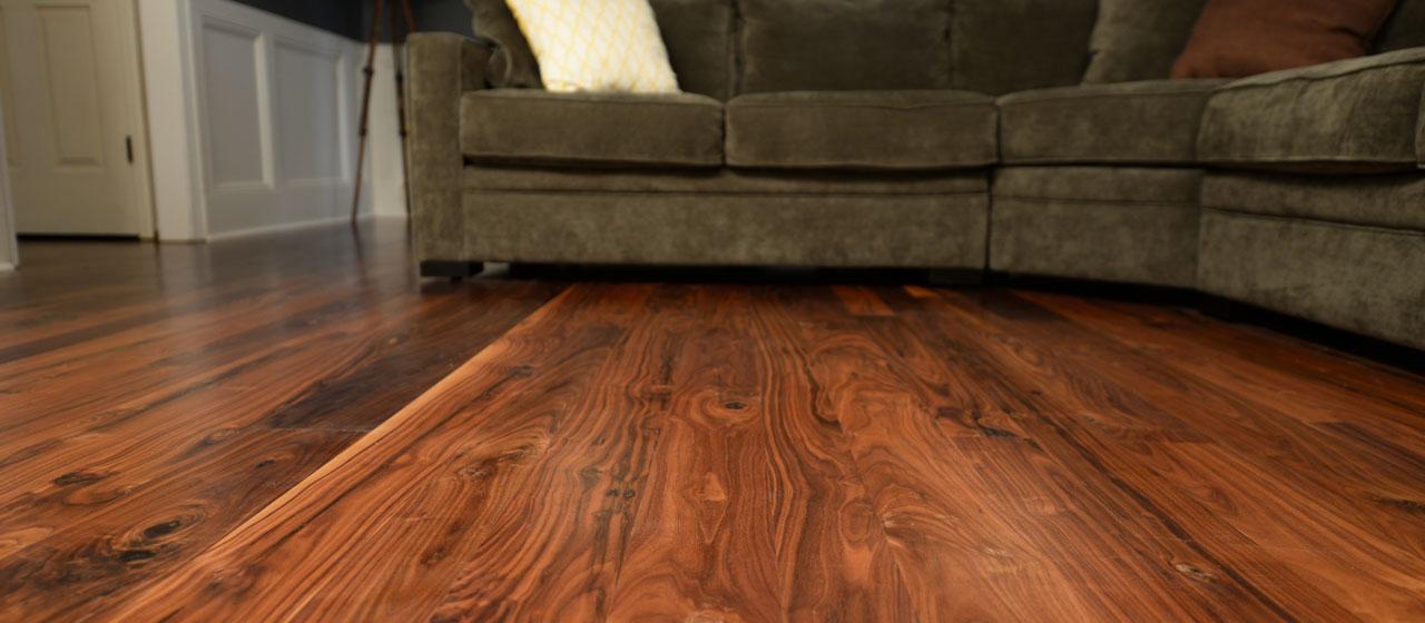 walnut floors clear or unfinished - american walnut flooring - sanded smooth ZZIGAWR