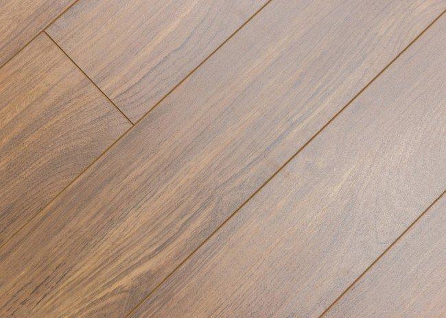 walnut laminate flooring 5-inch x 12.3-mm laminate flooring - walnut. angle view PYDTCIR