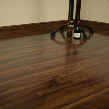 walnut laminate flooring american walnut gloss UMZIZLH