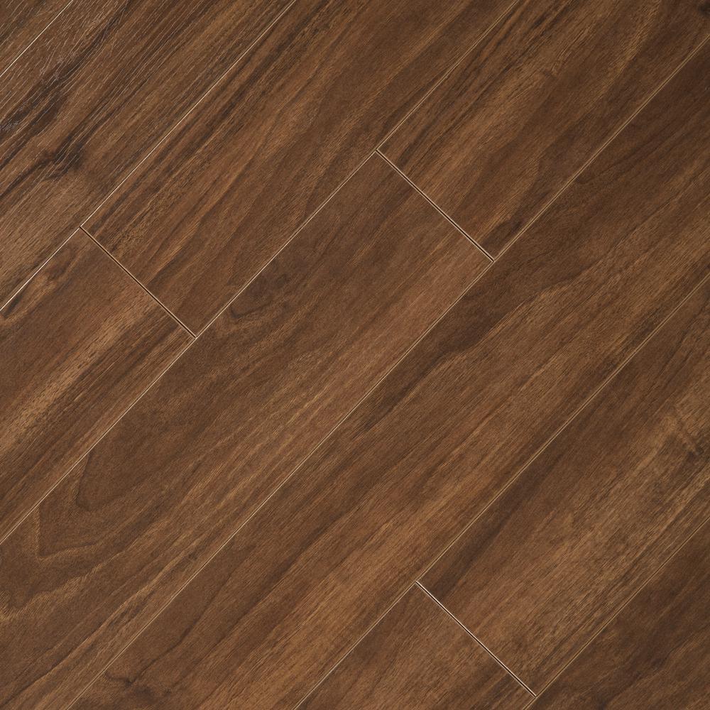 walnut laminate flooring home decorators collection hand scraped walnut plateau 8 mm thick x 5-9/16 REWHZRF