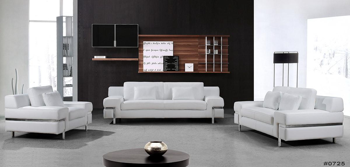 White leather sofa clef modern white leather sofa set KOVJGVJ