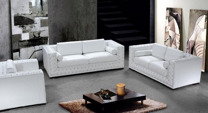 White leather sofa dublin luxurious white leather sofa set with crystals AUNCEPE