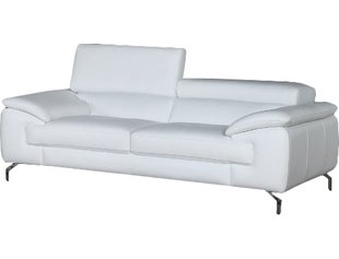 White leather sofa search results for  TJNEWUM