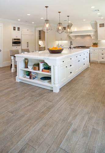 white oak hardwood flooring custom white oak hardwood floors traditional-kitchen KYKHGLE