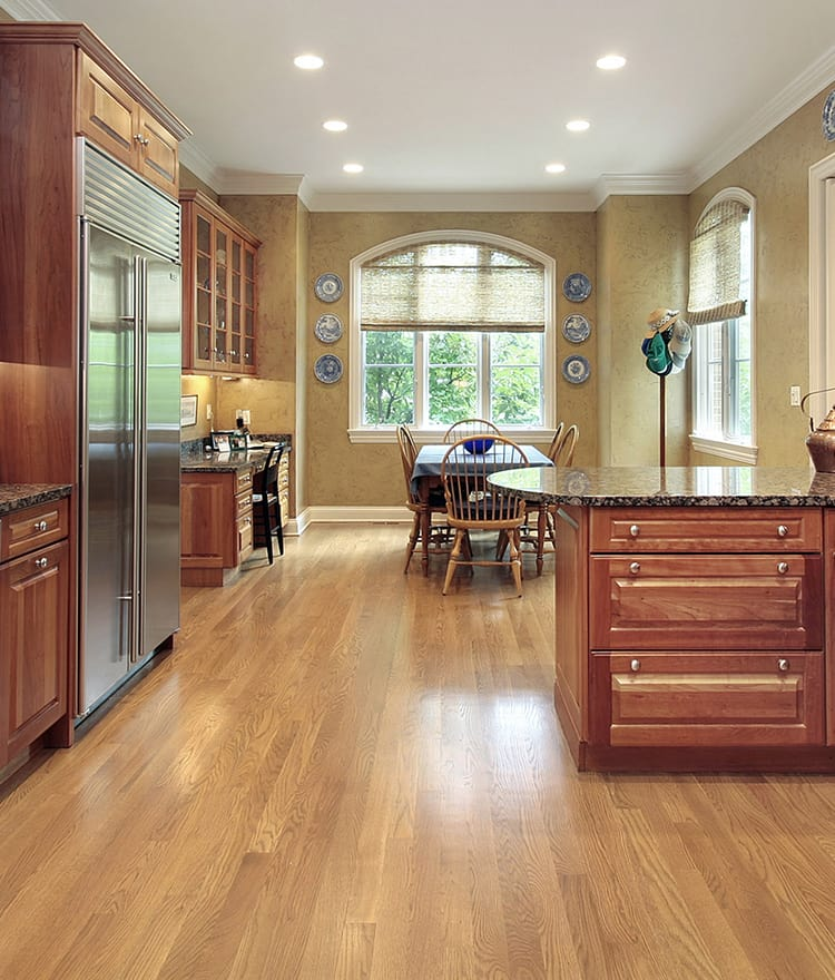 Difference between red and white oak hardwood flooring